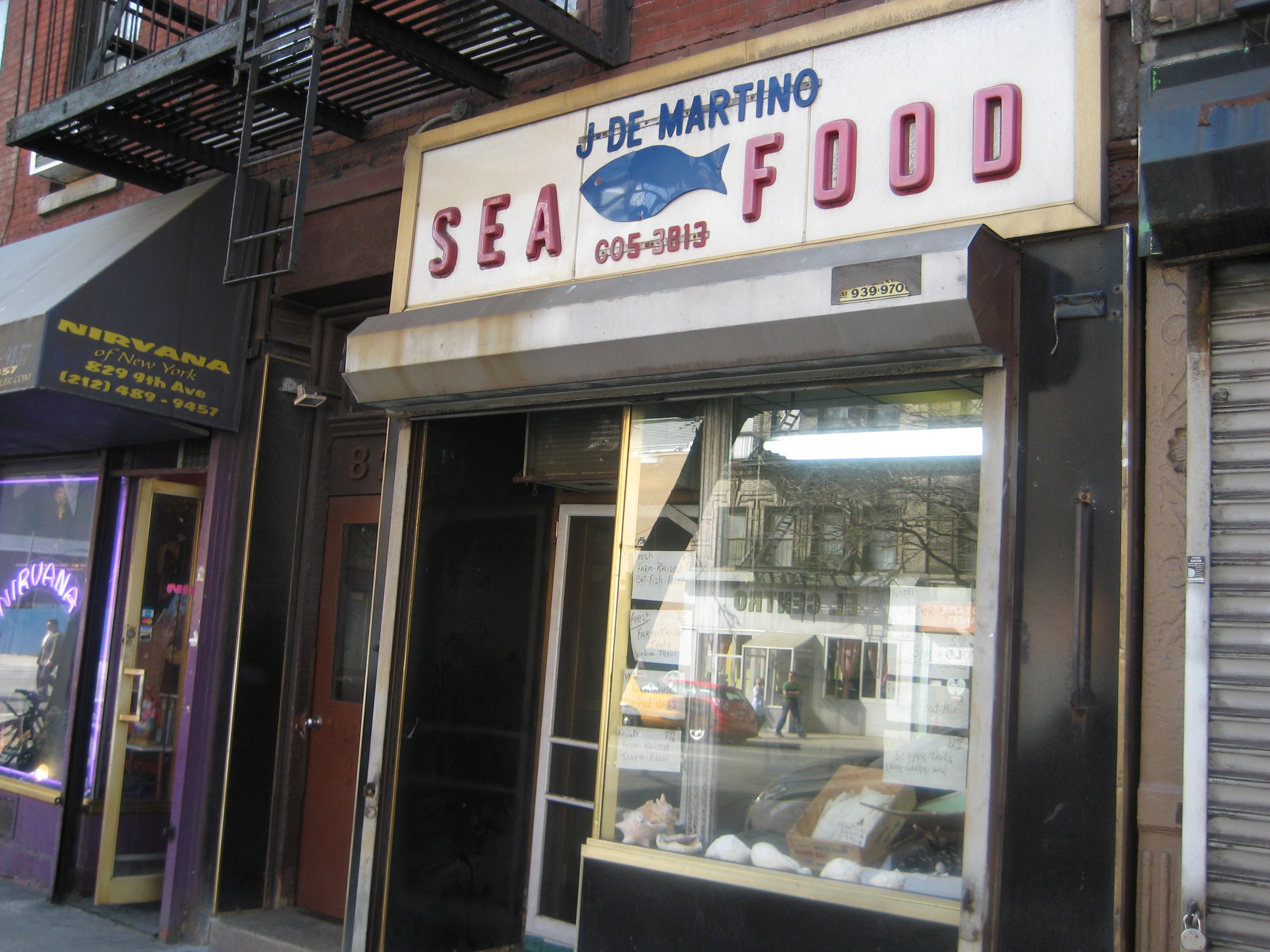 Random signage ephemeral new york for Fishing store nyc
