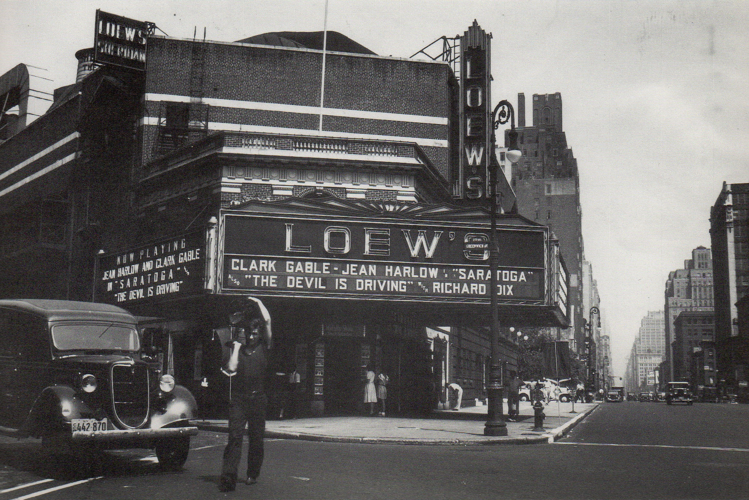 St. Vincent's and the Village movie theater | Ephemeral ...
