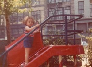 Washington Square Village, 1970s. That slide was my life.