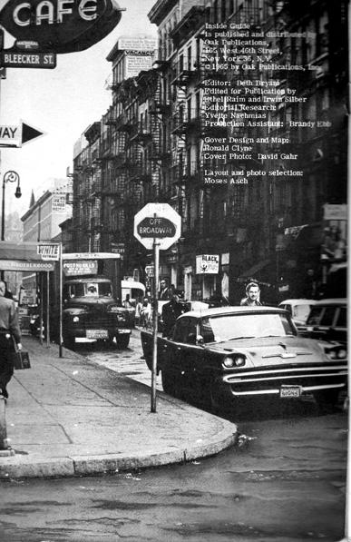 Bleecker Street In The 60s Ephemeral New York