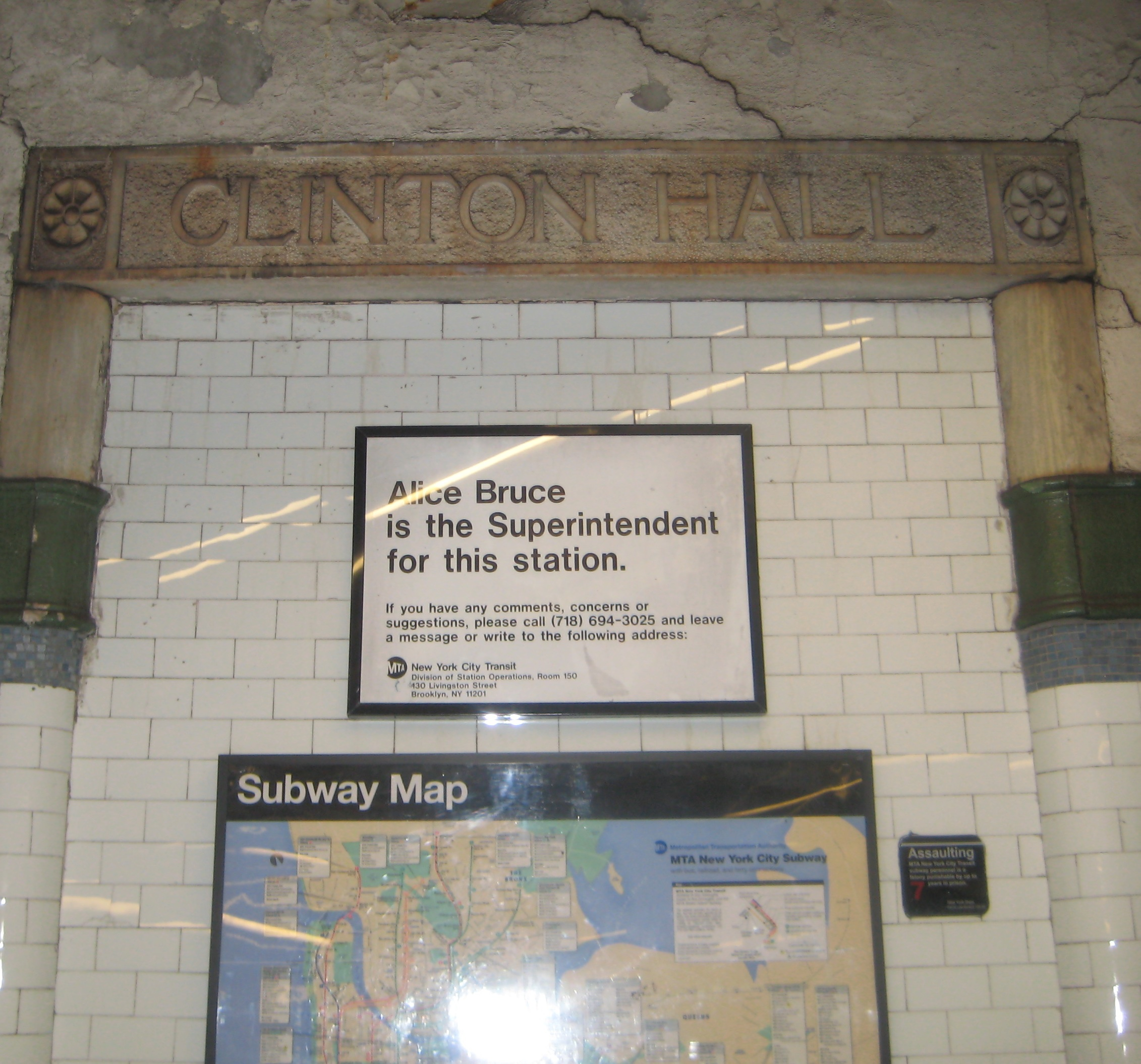New York City Subway Map With Street Names.The Secret Door In The Subway Wall Ephemeral New York