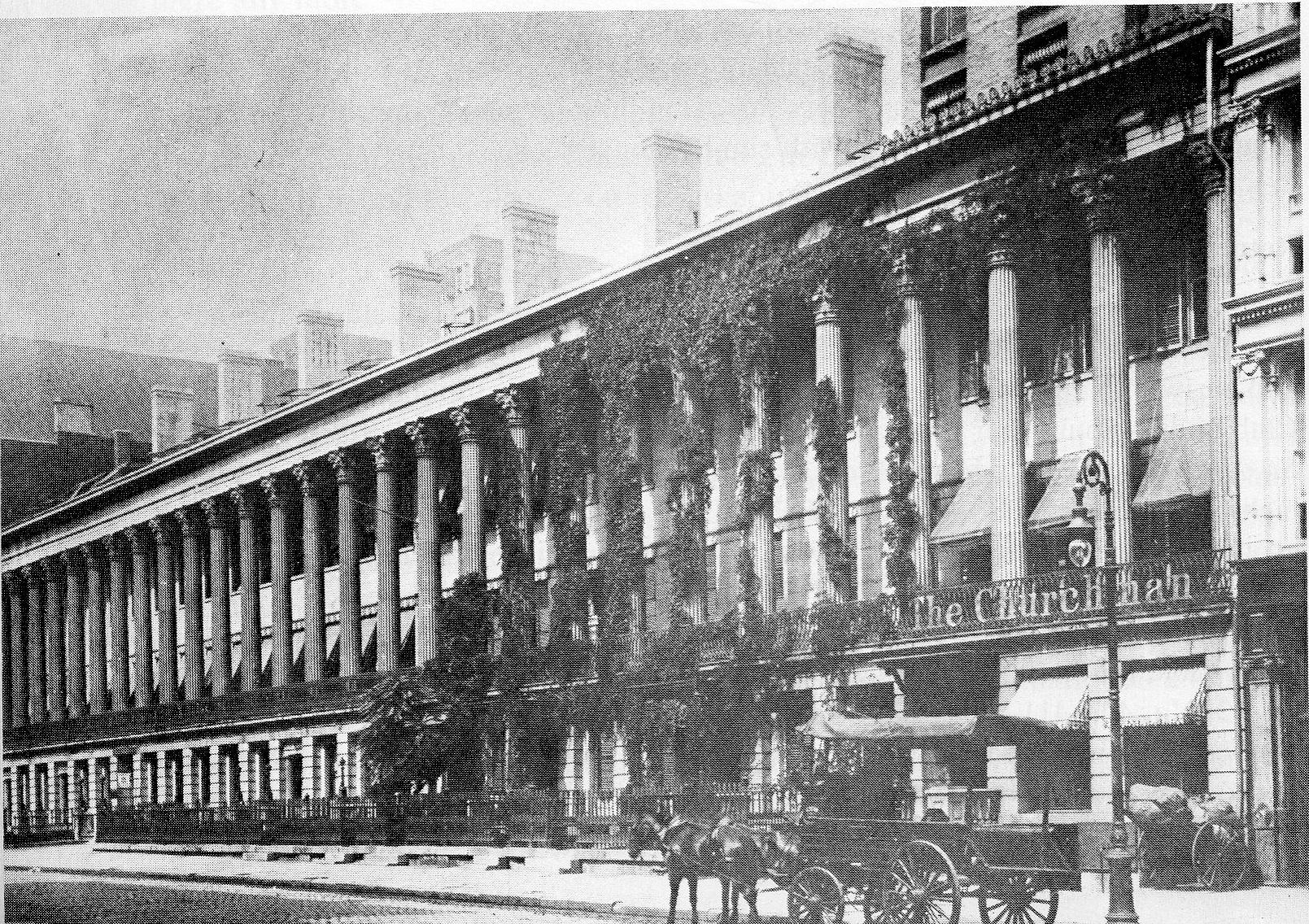 The Most Elegant Address Of The 1830s Ephemeral New York