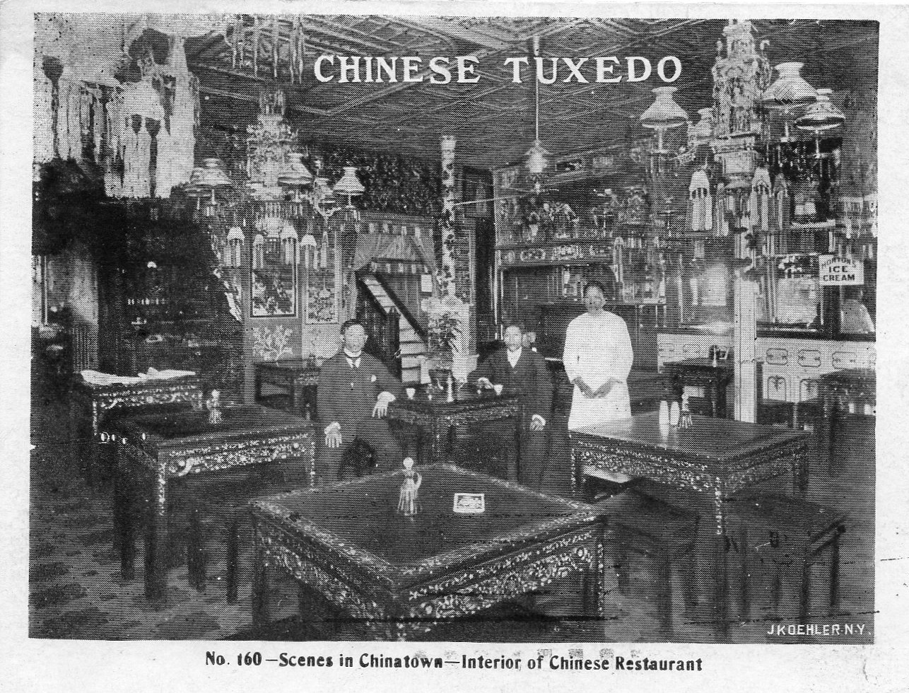 Chinese food beyond chop suey ephemeral new york for 1900 asian cuisine