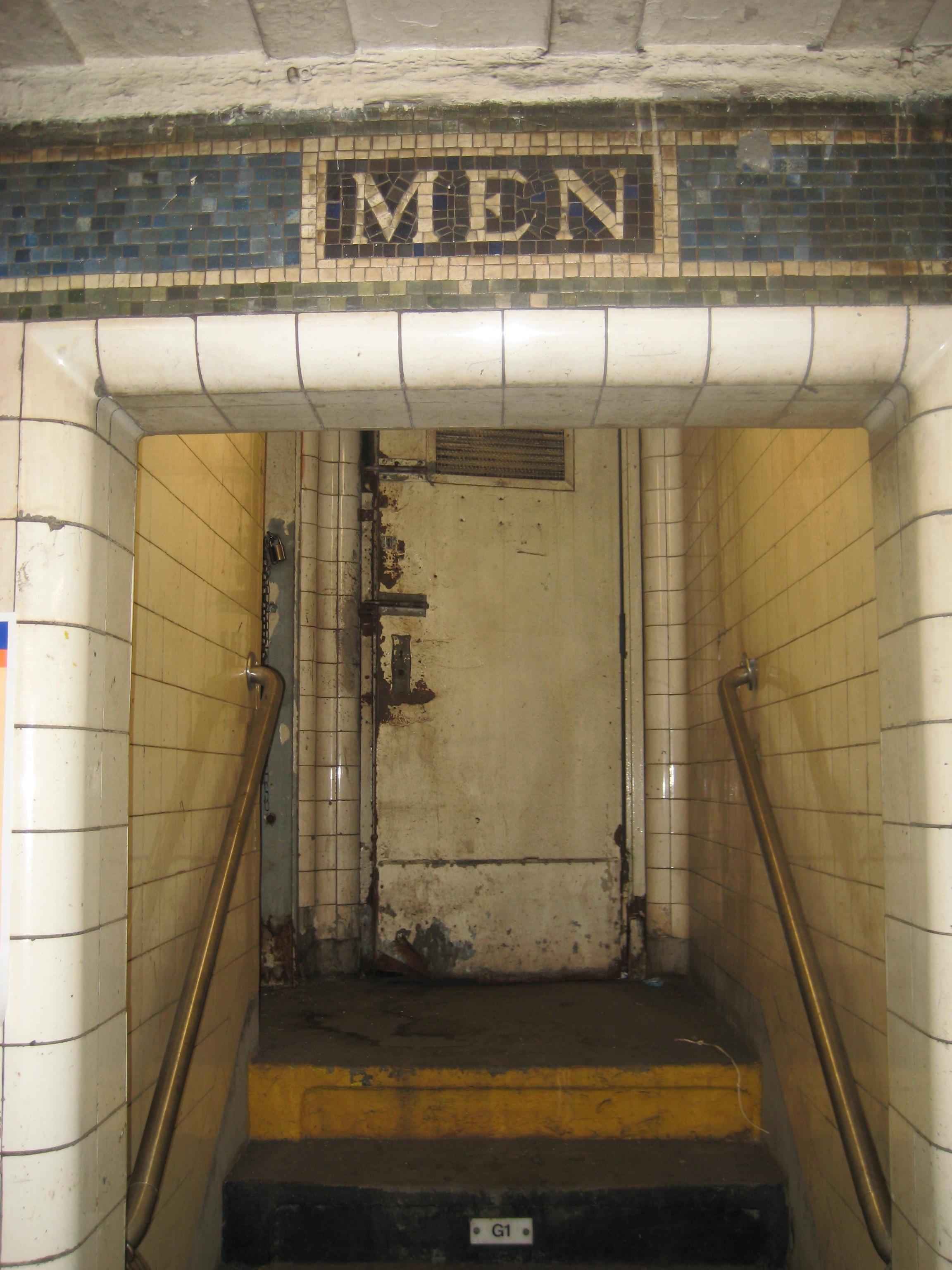 14th Street Subway Station Ephemeral New York