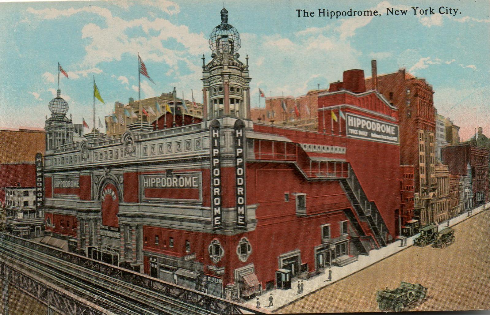 the Hippodrome  Ephemeral New York