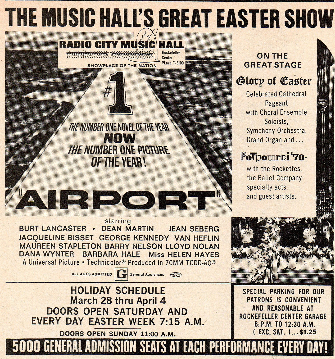 Going to the movies on March 28, 1970 | Ephemeral New York