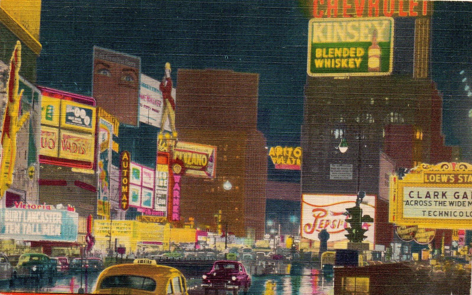 Times Square Ephemeral New York