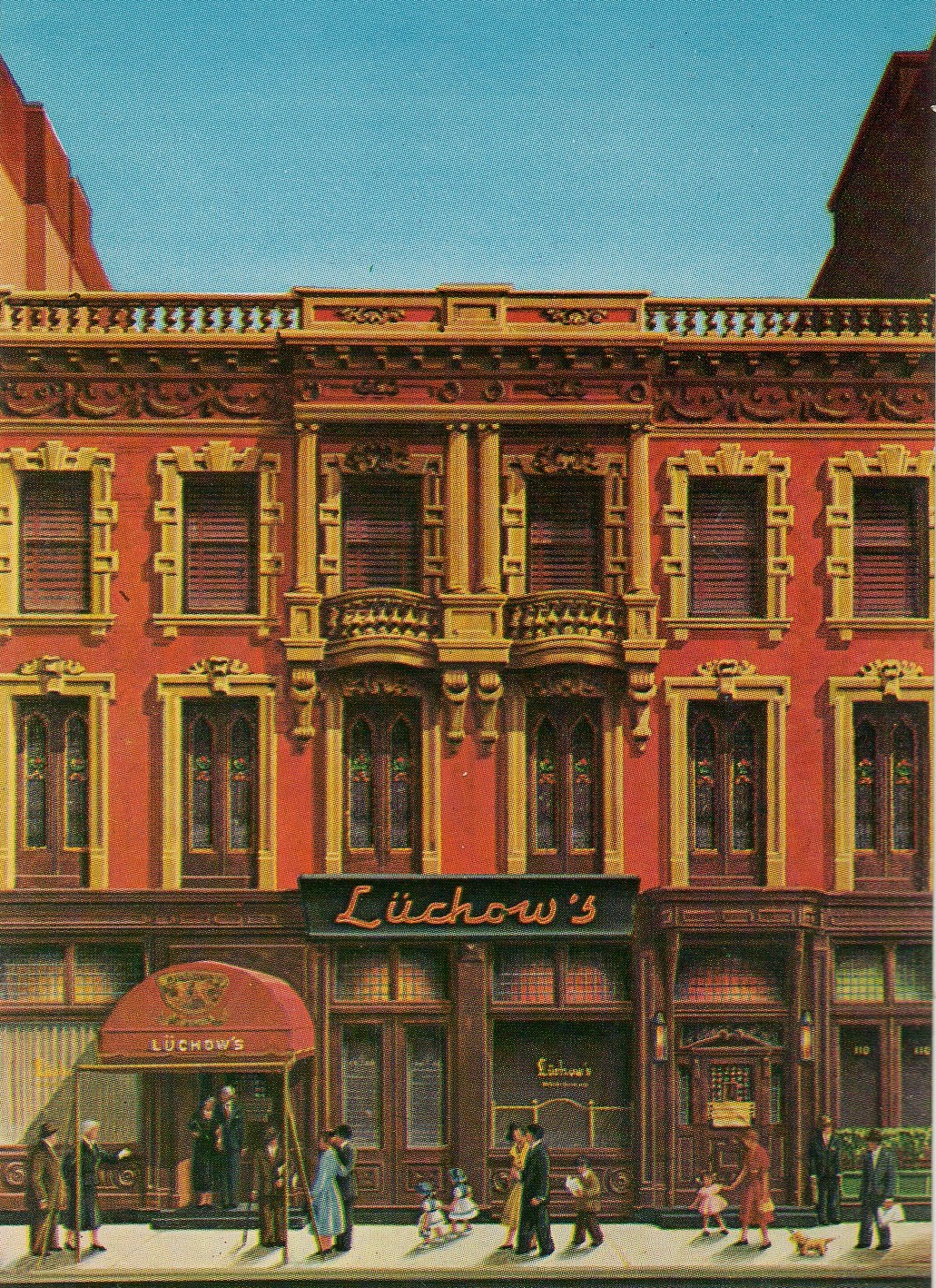 Legendary Lüchow\'s on East 14th Street | Ephemeral New York