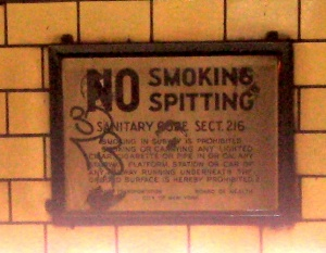 subwaynospittingsign