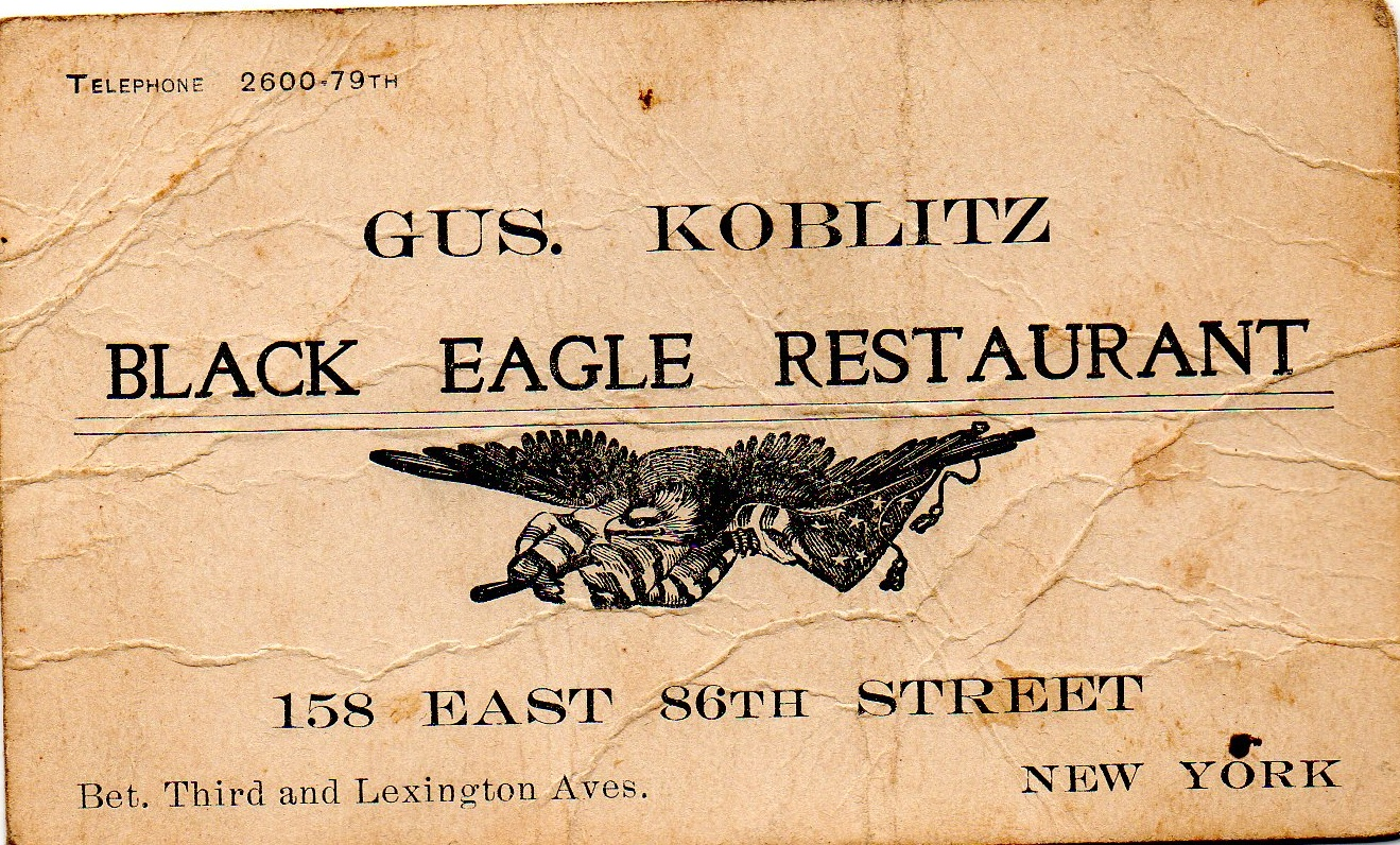 old business cards | Ephemeral New York