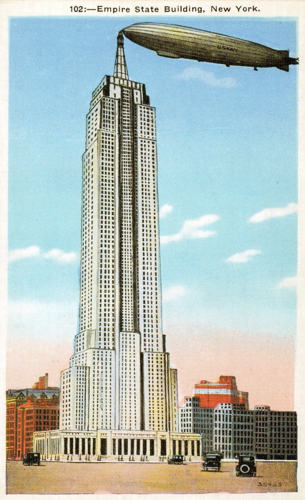 The empire state building s airship terminal ephemeral for 102nd floor of the empire state building