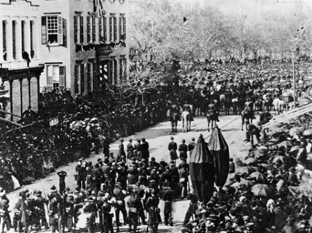 Who Is Watching Lincoln S Funeral Procession Ephemeral