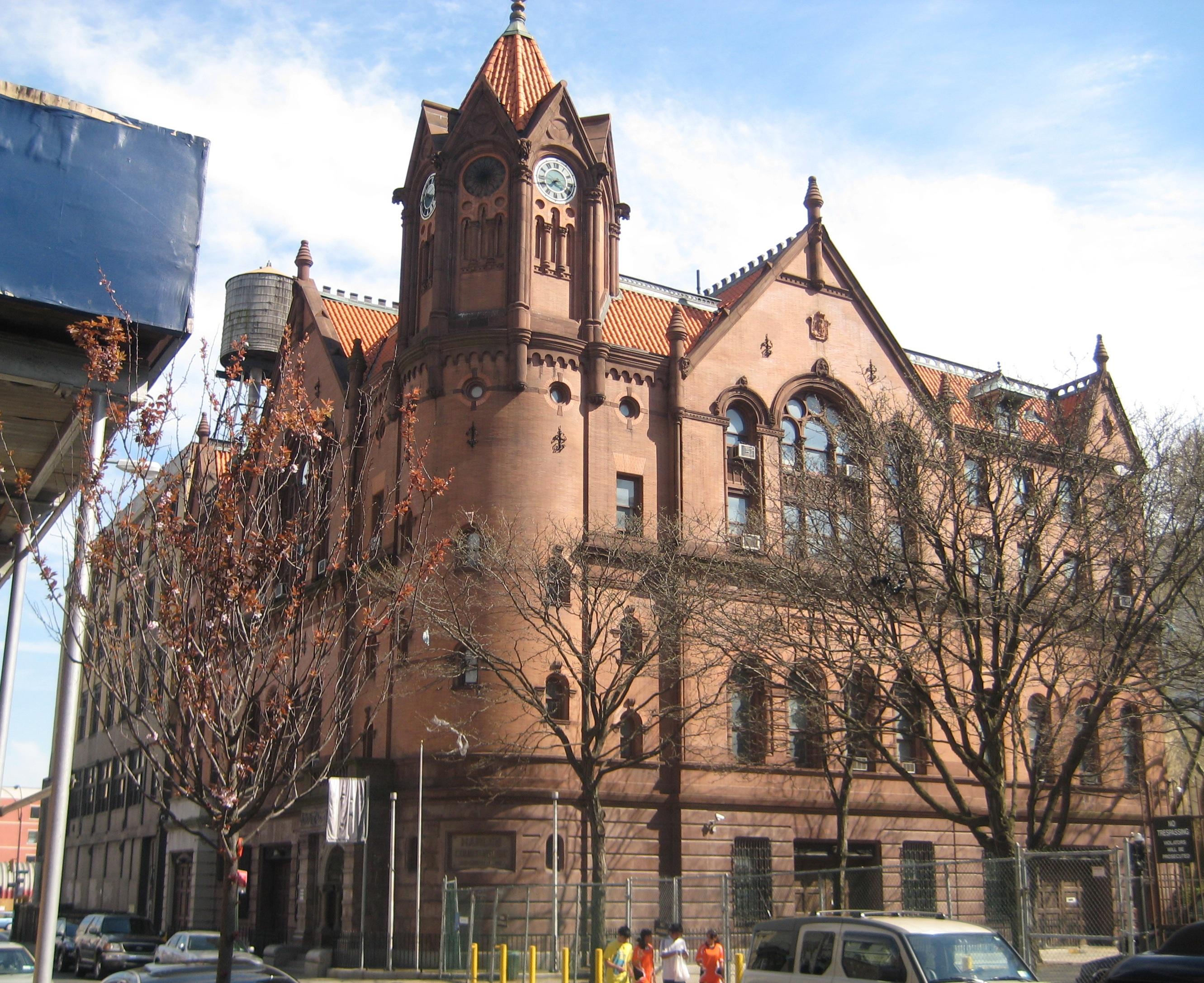 Harlem courthouse | Ephemeral New York