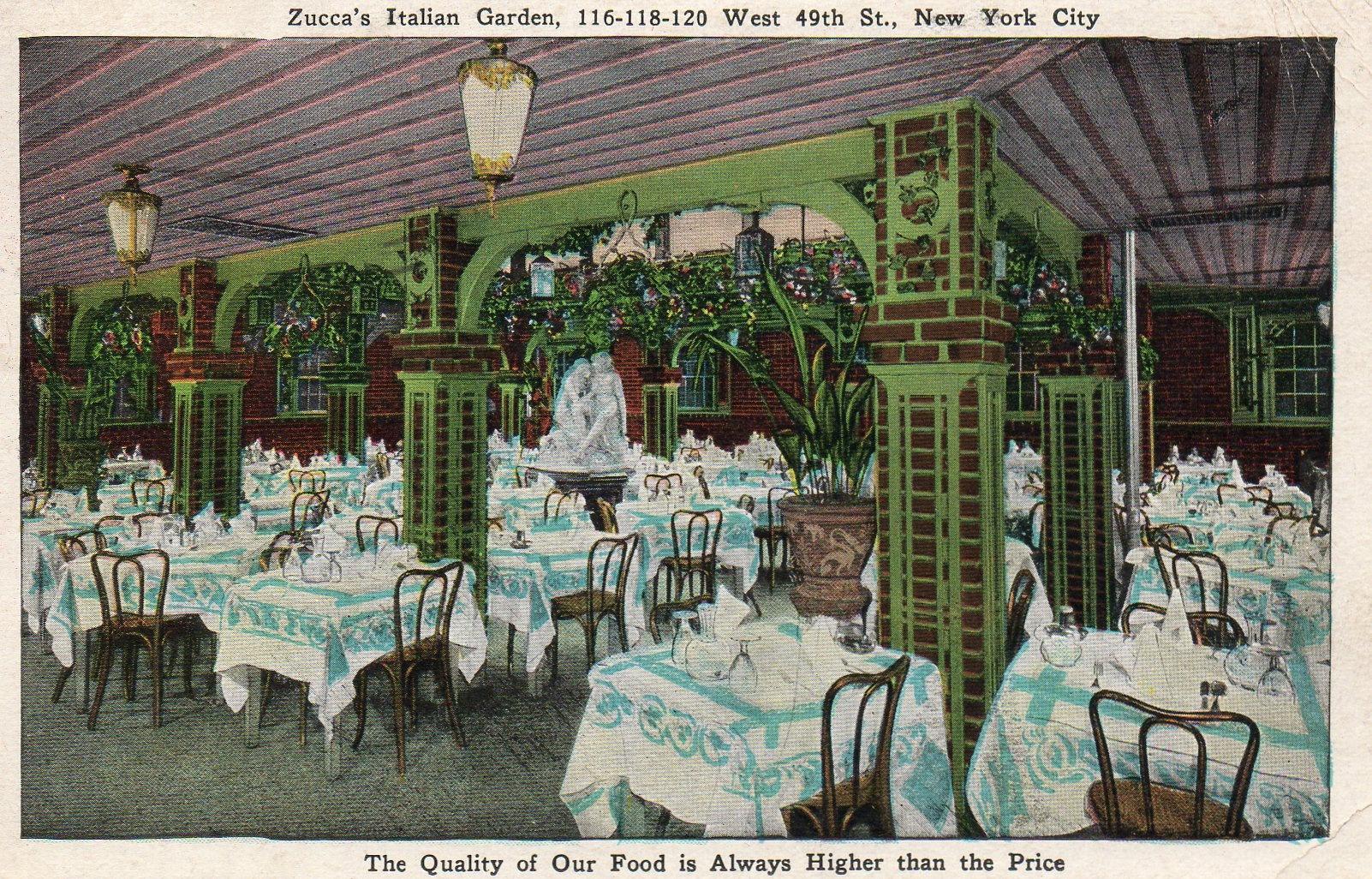 Image Gallery Italian Gardens Restaurant