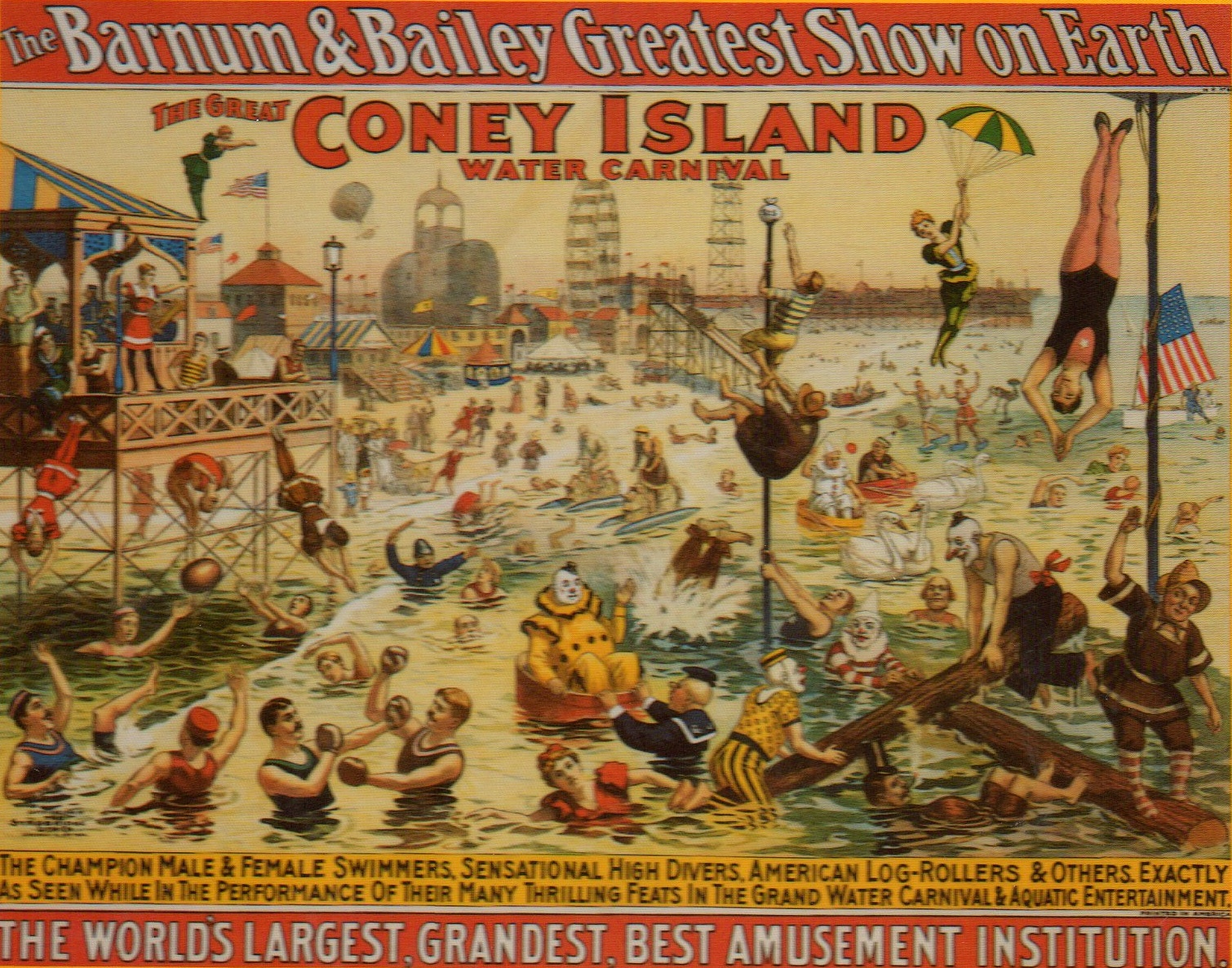 Paintings Of Coney Island