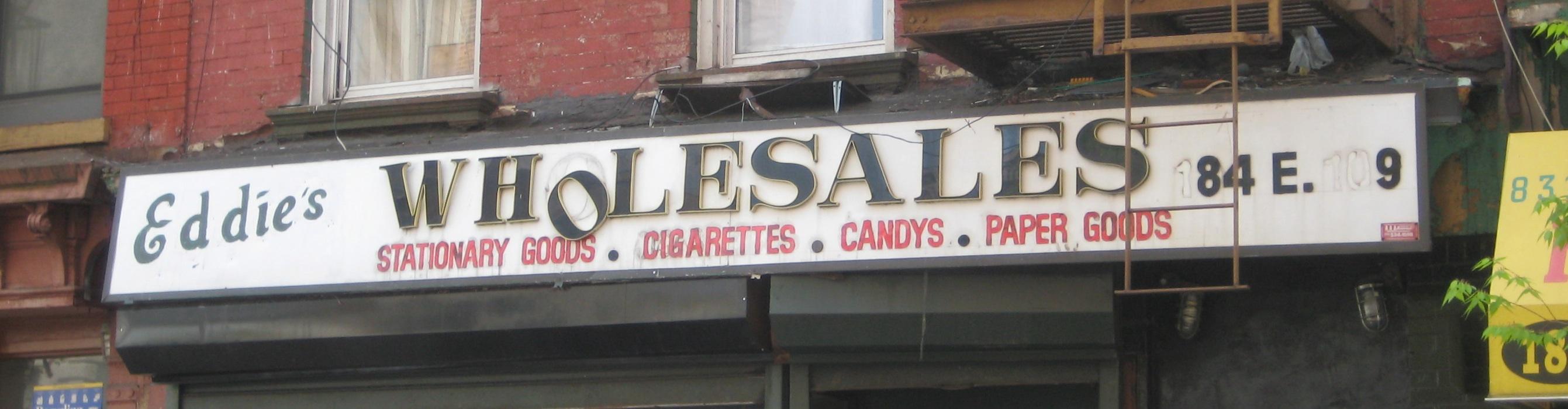 1960s Store Signs Ephemeral New York