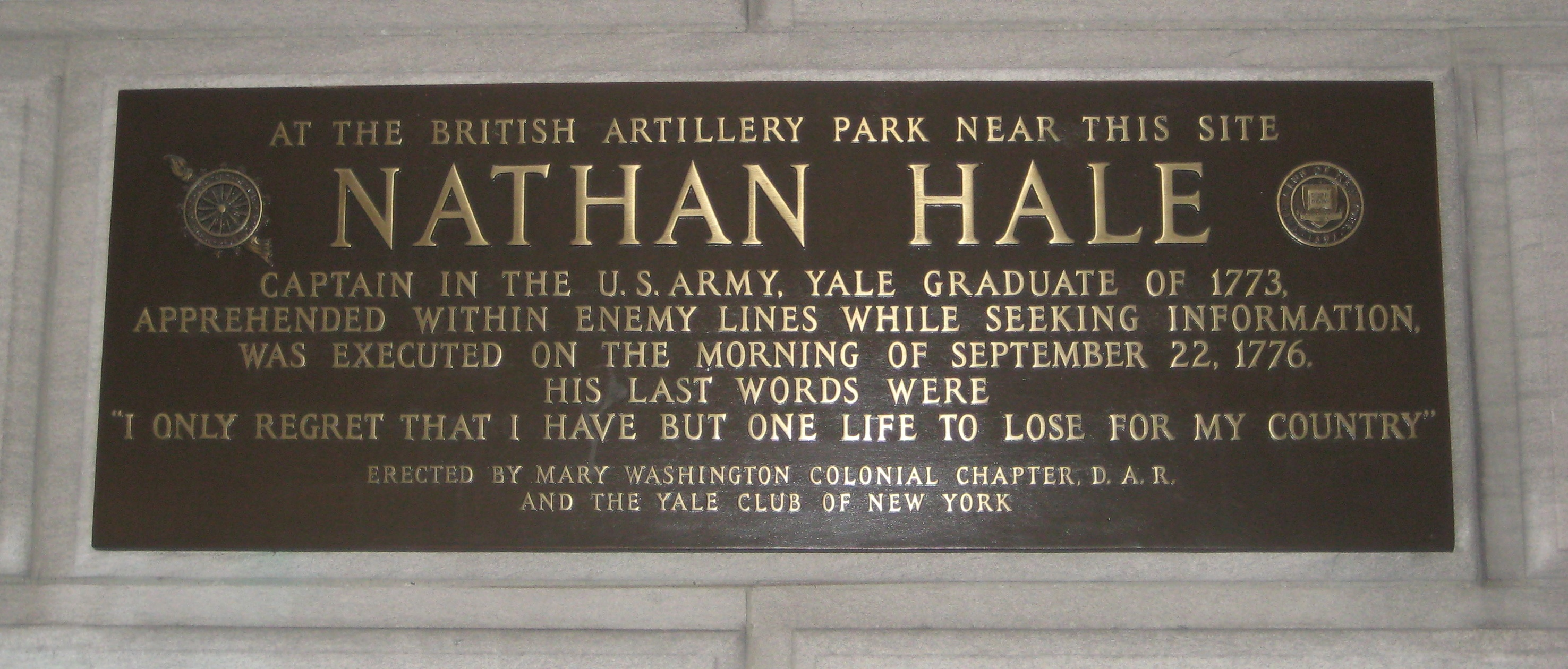 Image result for the hanging of nathan hale