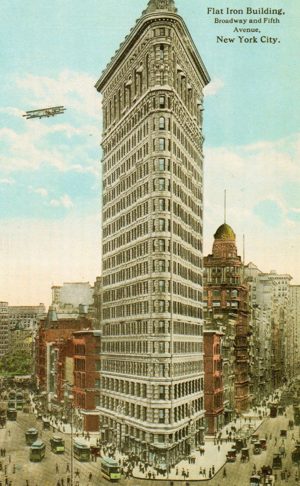 Flatiron Building Ephemeral New York