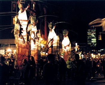 Villagehalloweenparade