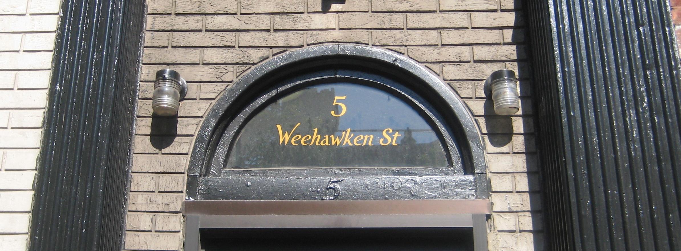 Ives House Numbers Fiveweehawkenstreet