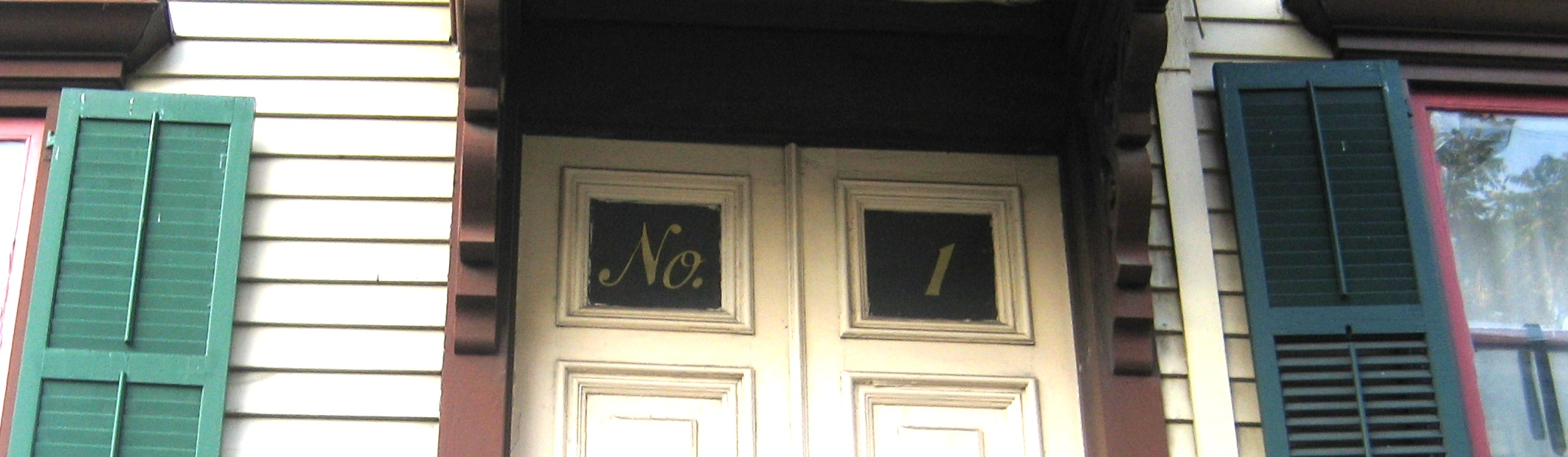 Decorating apartment door numbers pictures : apartment numbers and letters | Ephemeral New York