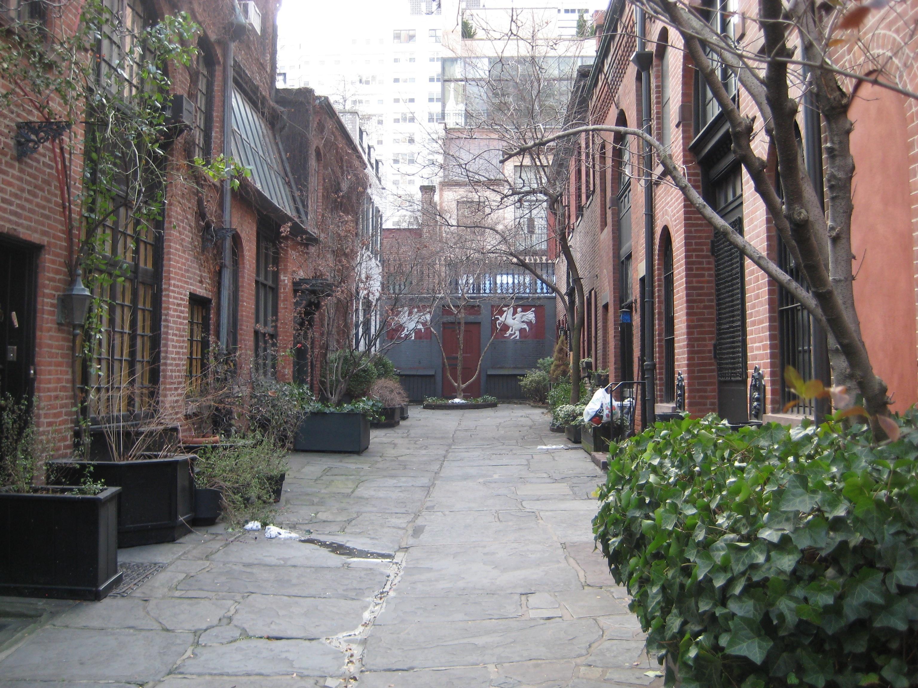 Strange Days in Sniffen Court & Strange Days in Sniffen Court | Ephemeral New York