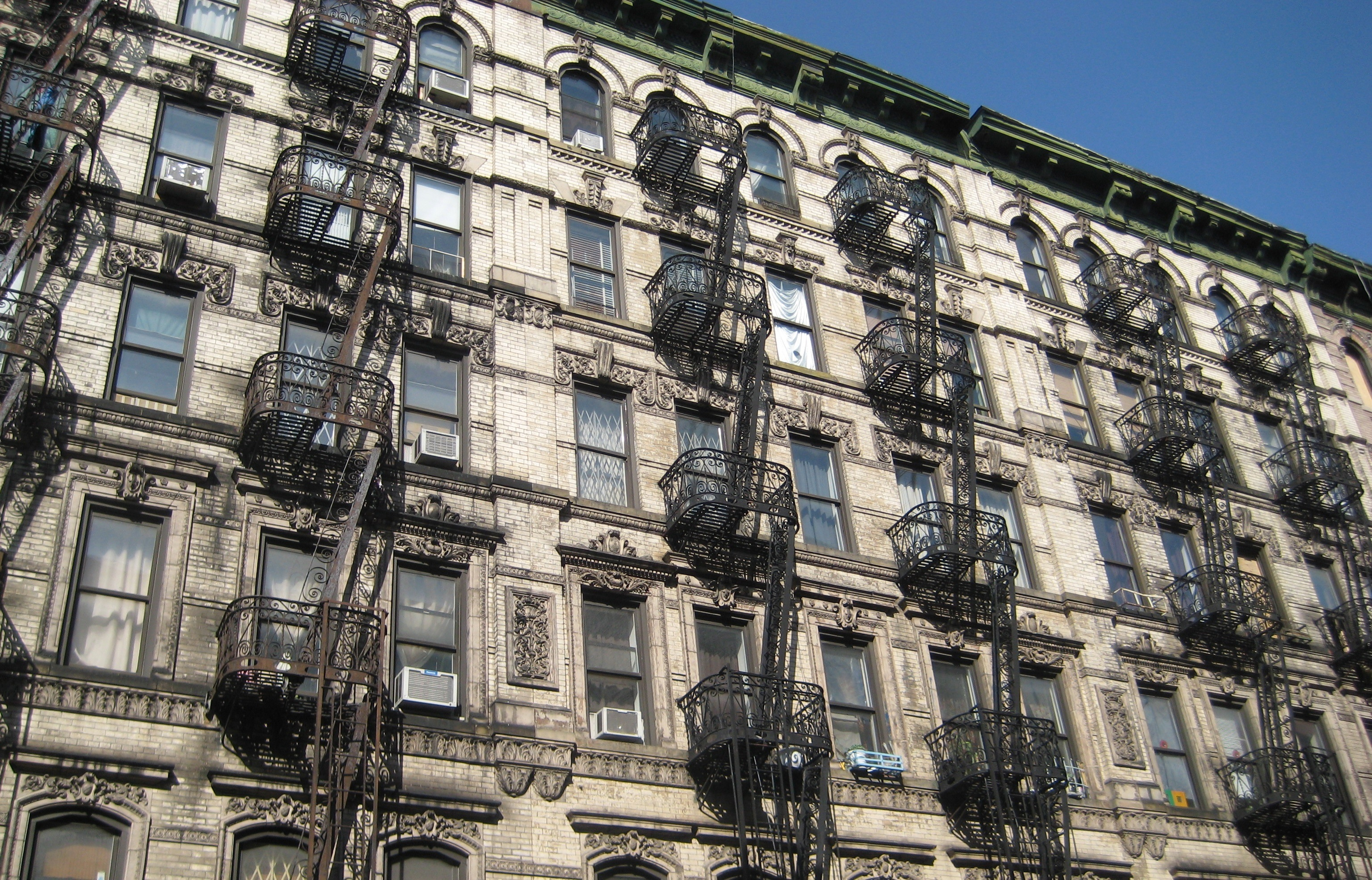 Ordinary fire escapes or romantic balconies ephemeral for New york balcony