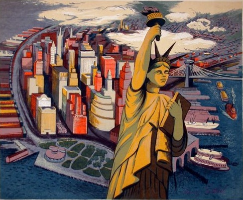 Image result for artwork statue of liberty