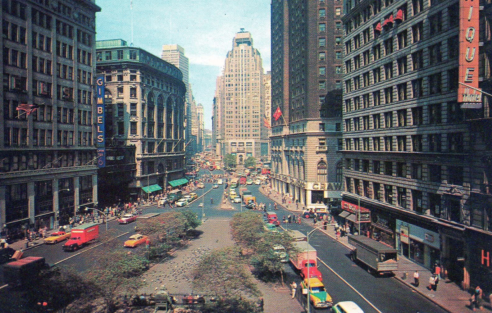 Herald Square In The 1950s Ephemeral New York