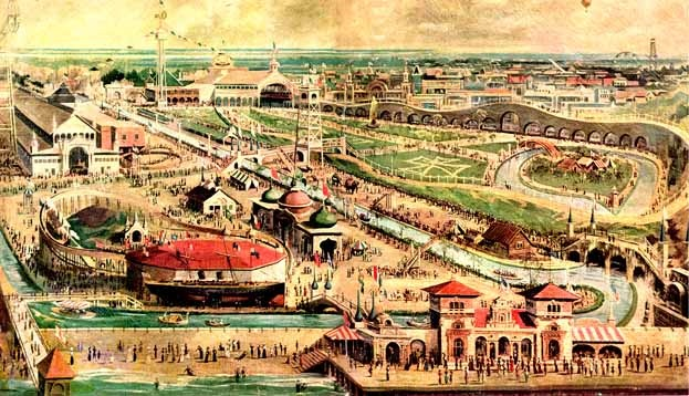 When steeplechase park thrilled coney island ephemeral for Steeple chase