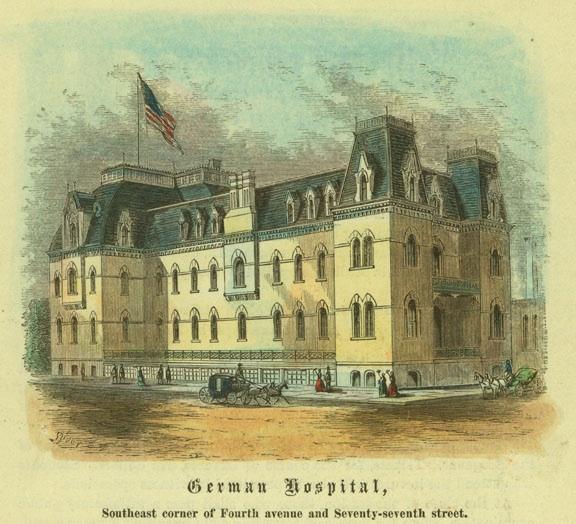 The fight over naming Lenox Hill Hospital | Ephemeral New York