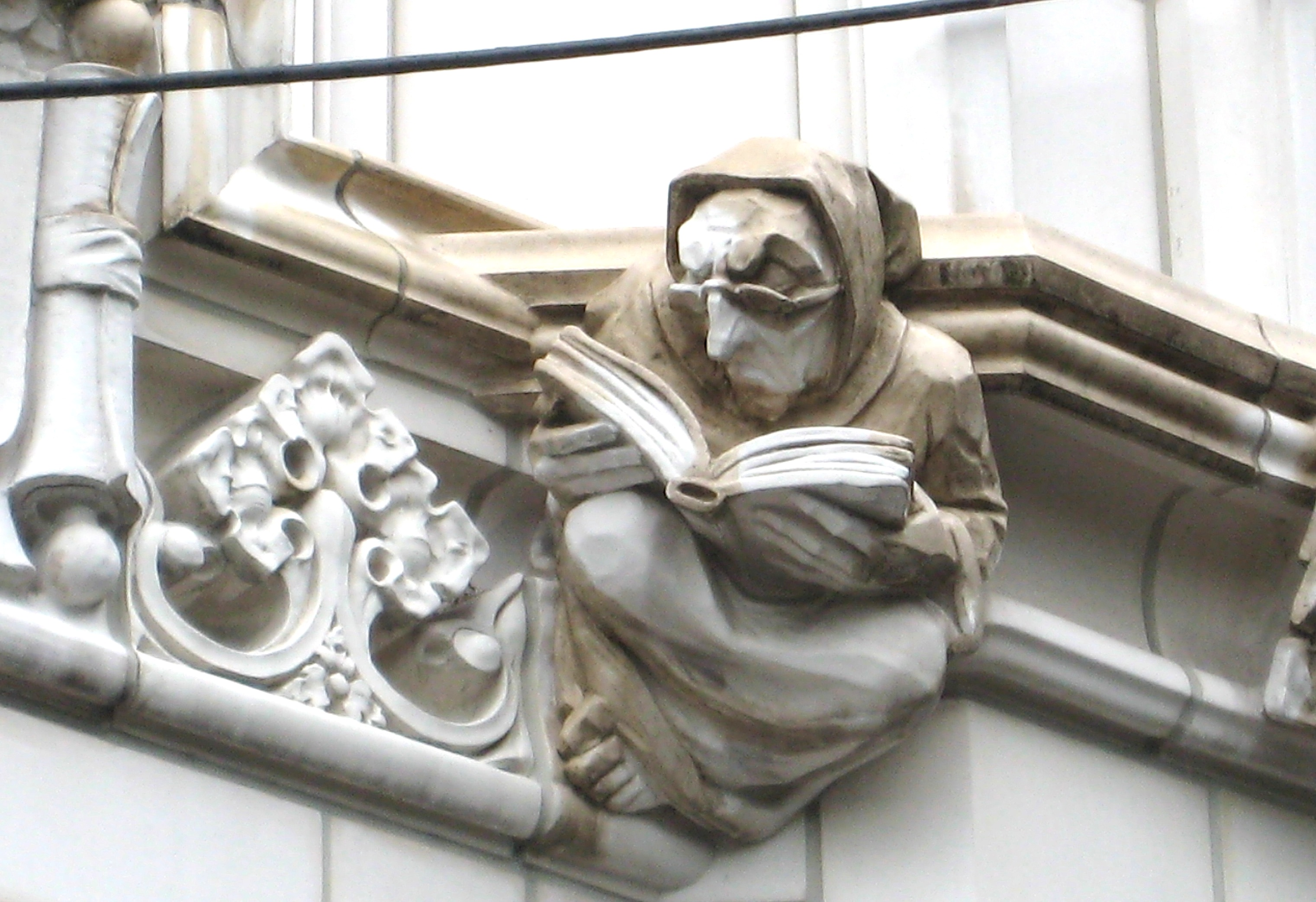 The Book Reading Grotesque Of City College