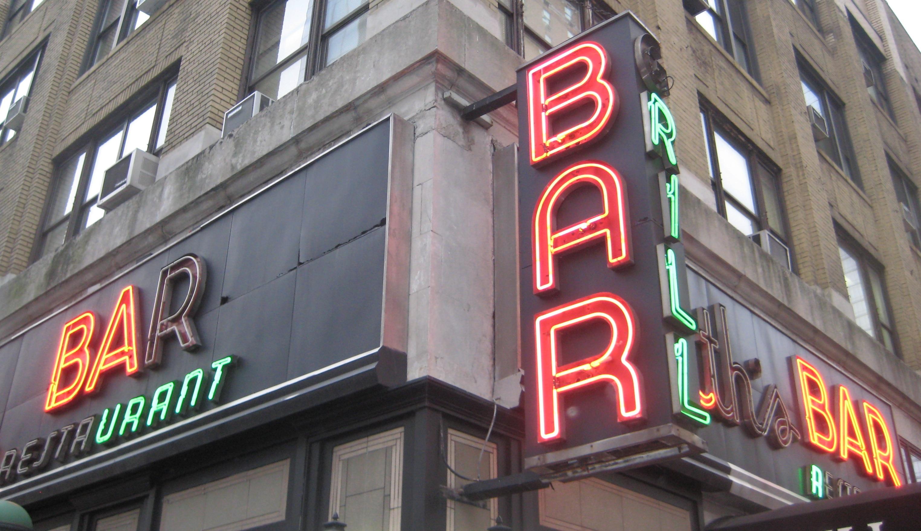 Neon Bar Signs | Ephemeral New York