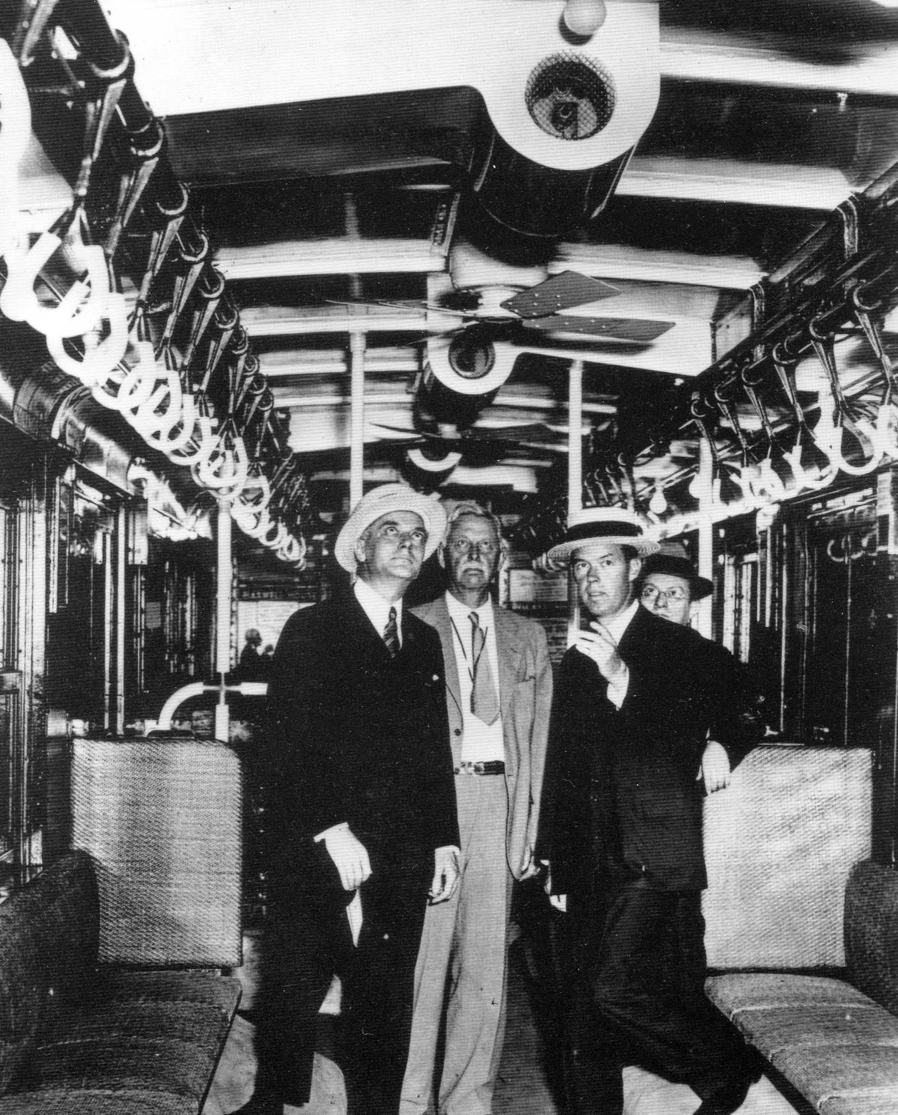 before subways had air conditioning   ephemeral new york