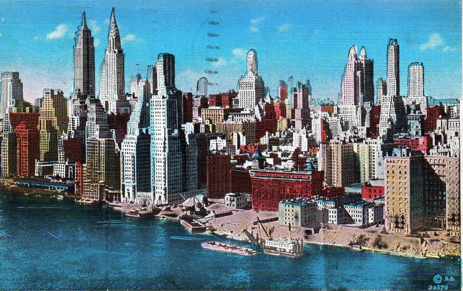 Vintage new york postcard, lil teen girls sucking big dick