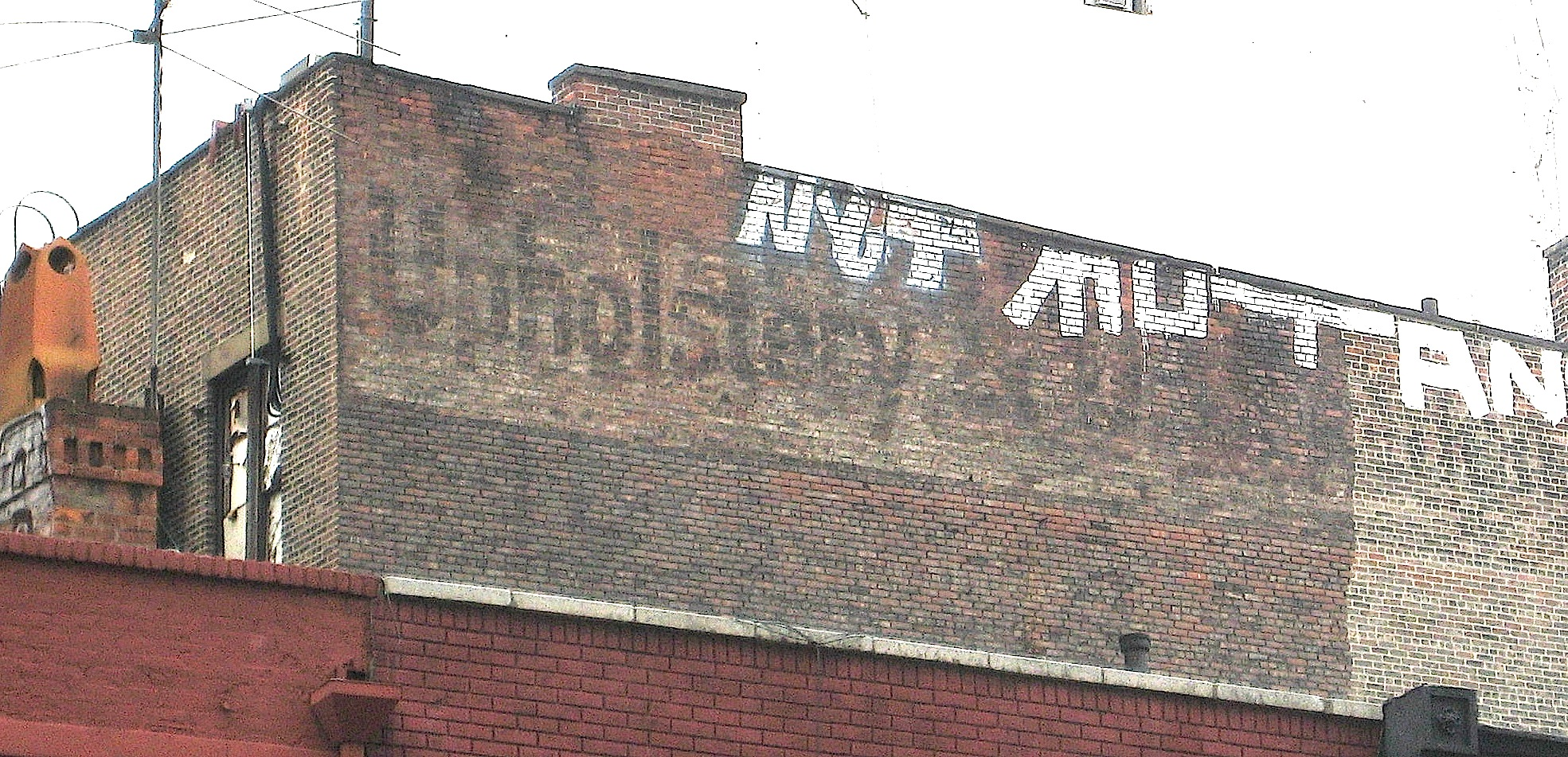 Faded Ads On Buildings Ephemeral New York