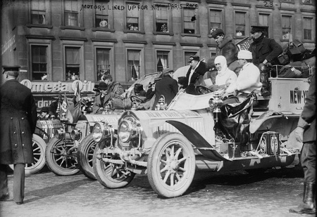Auto Racing 1908 on The Great New York To Paris Auto Race Of 1908