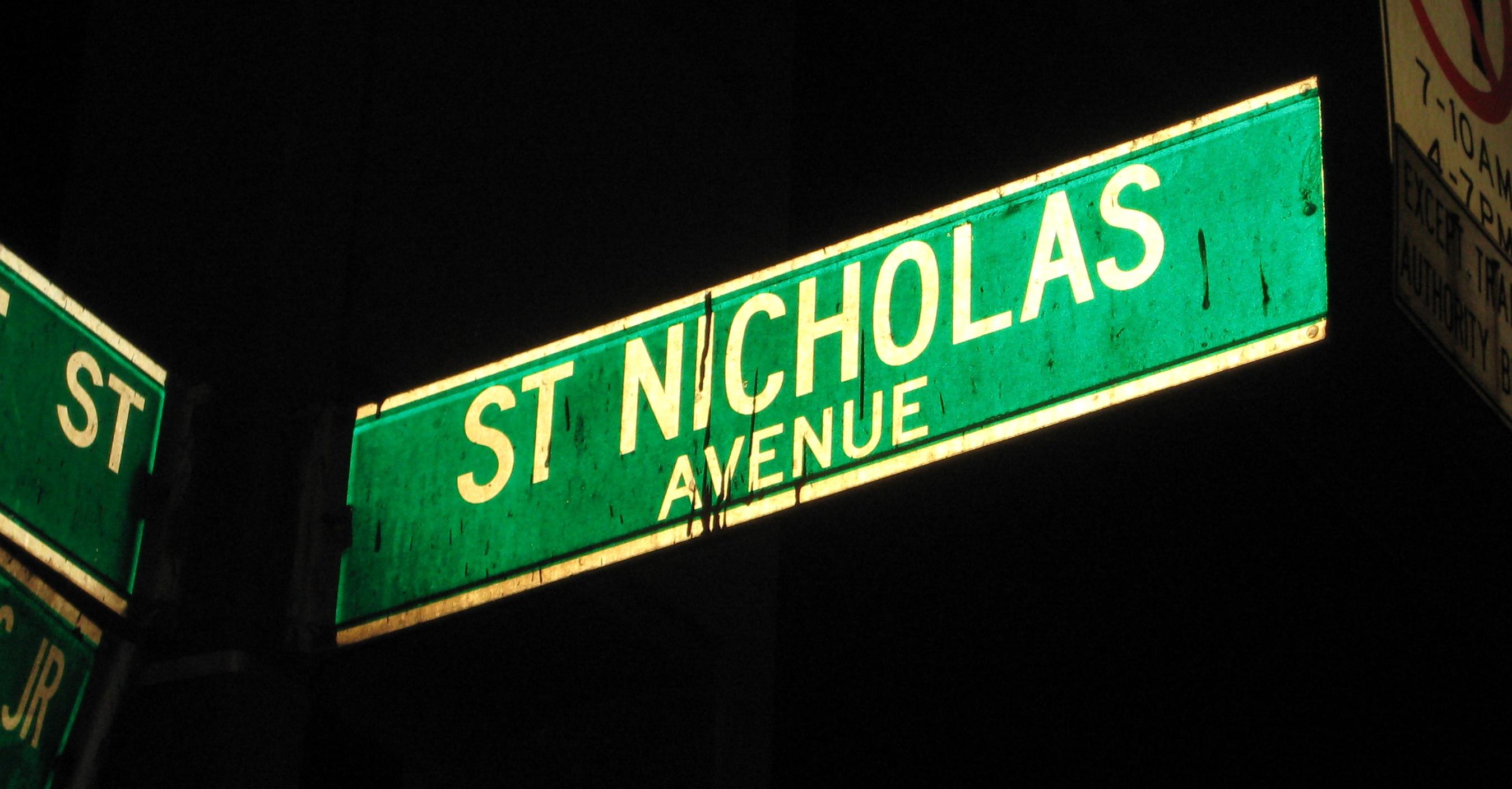Image result for avenida Saint Nicholas , Nueva York