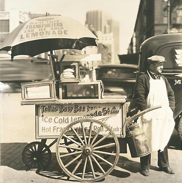 Image result for hotdog stands 1950s