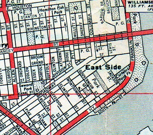 Lower East Side New York Map.Lower East Side 1900 Ephemeral New York