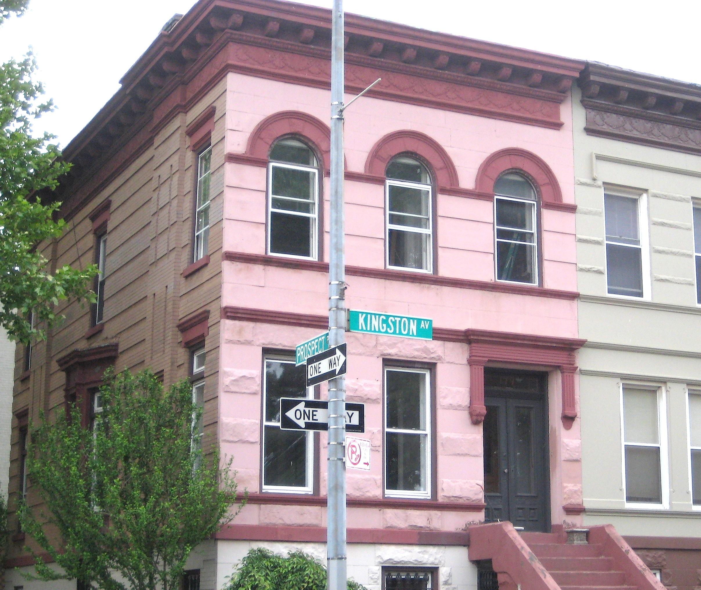 pink houses new york city ephemeral new york