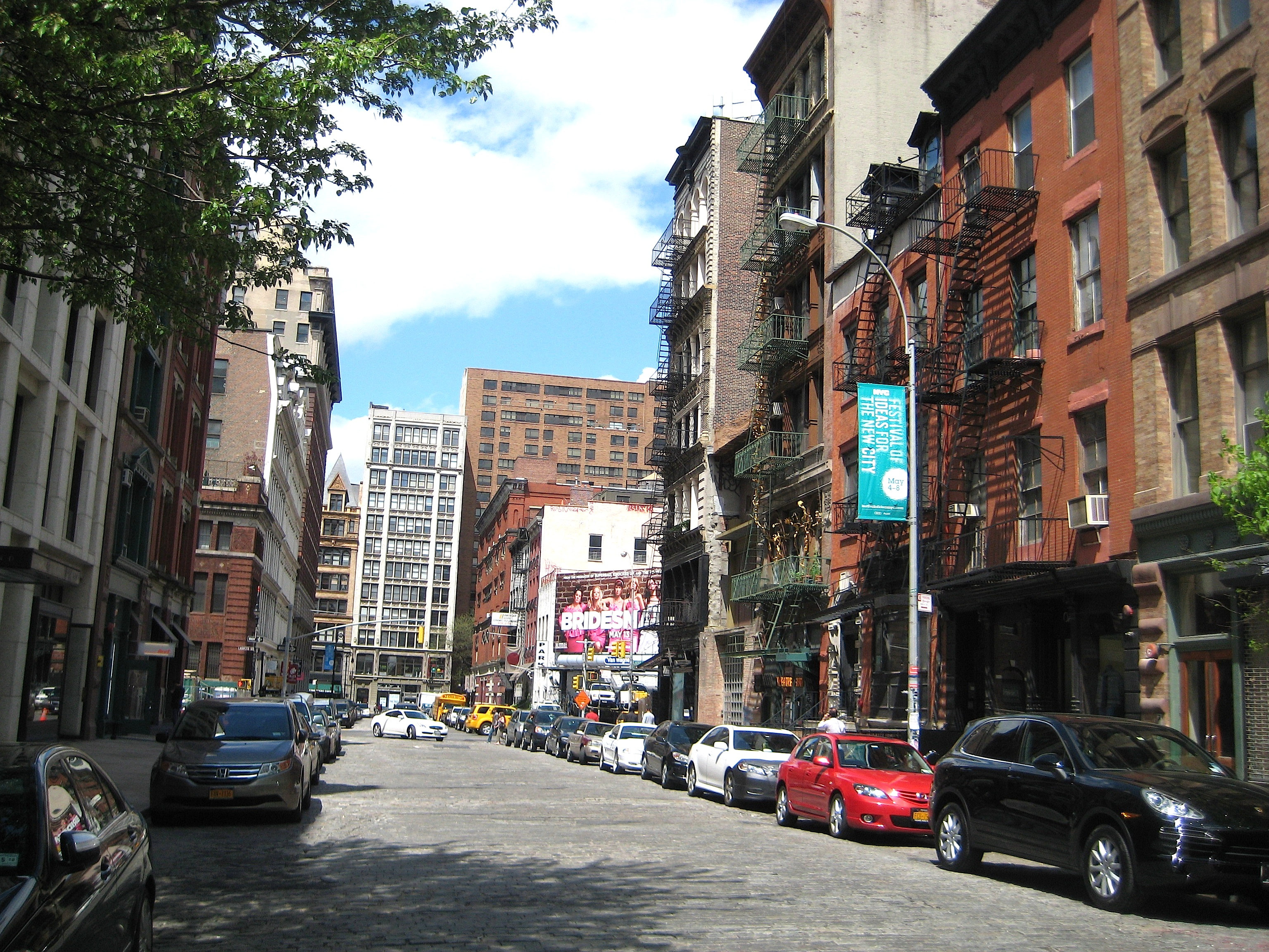 Bond street chic and exclusive in the 1830s ephemeral for The village nyc