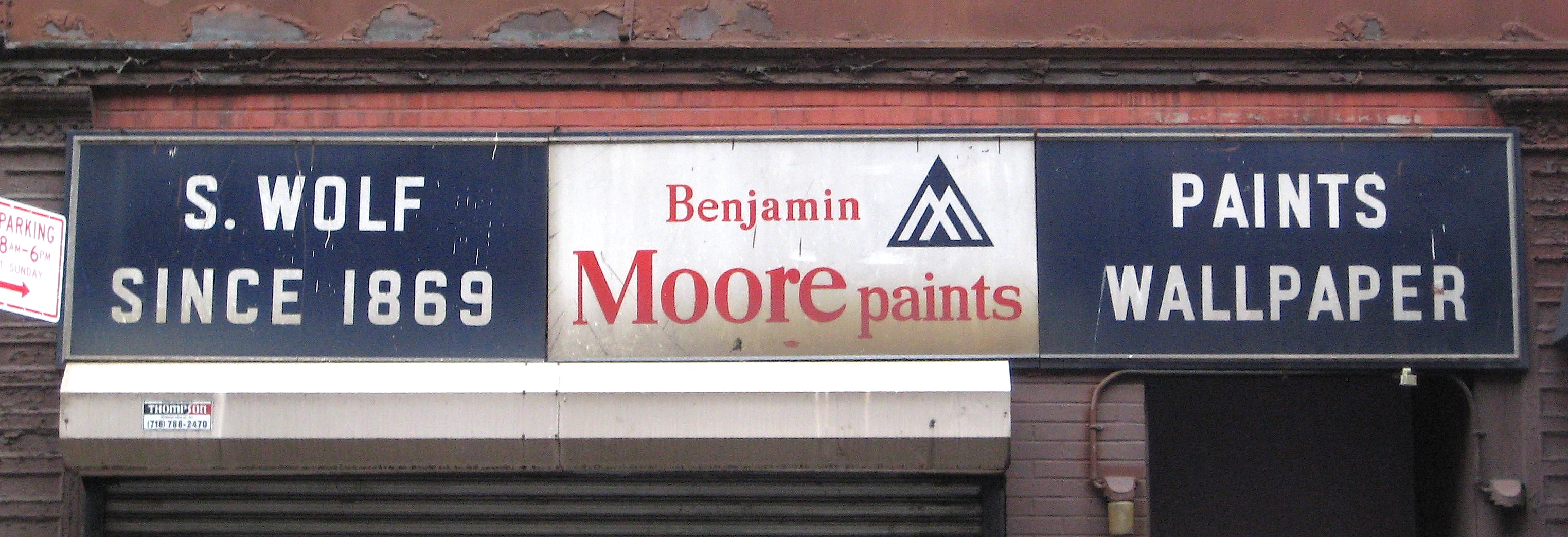 The city s oldest hardware stores and signs