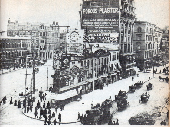 23rd Street, Broadway and Fifth Avenue 1884