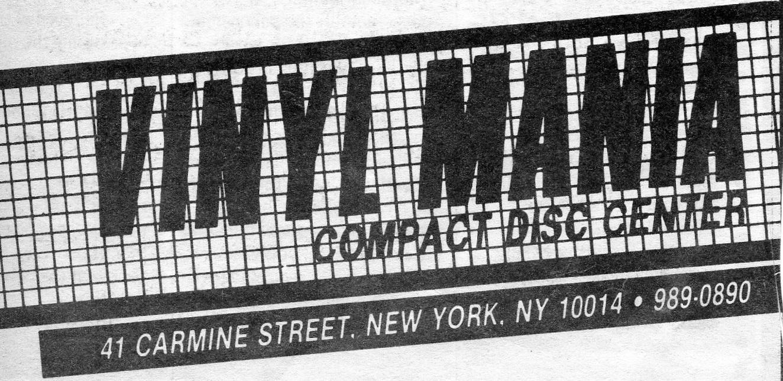Vintage Record Store Ads Ephemeral New York