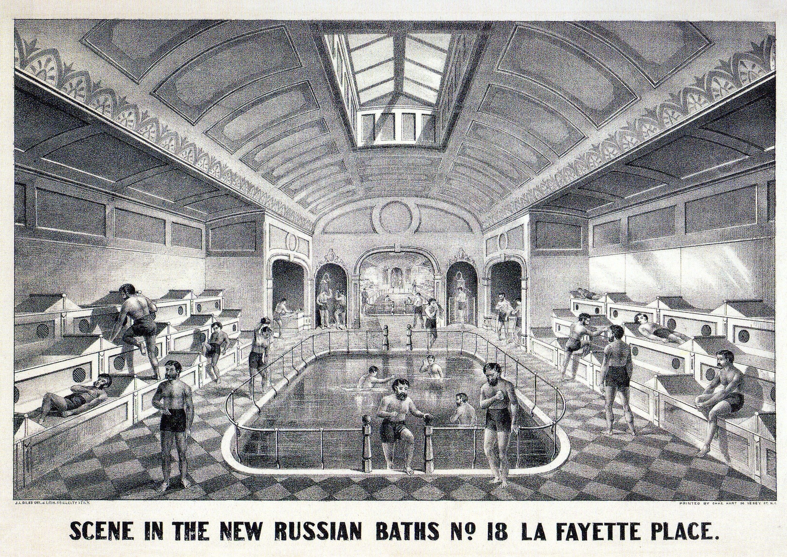New York Russian Baths Are 70