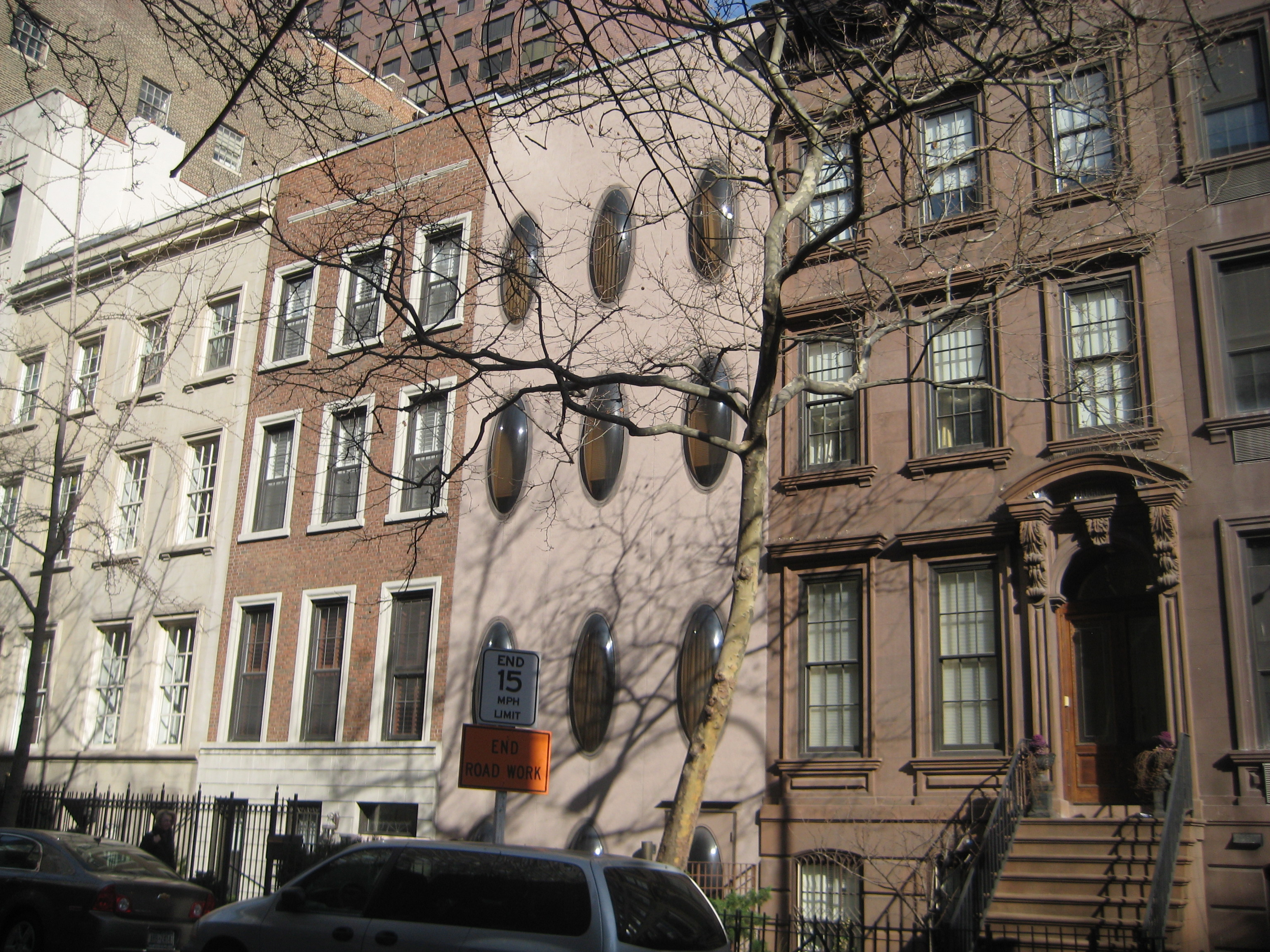 New York Brownstone Ephemeral