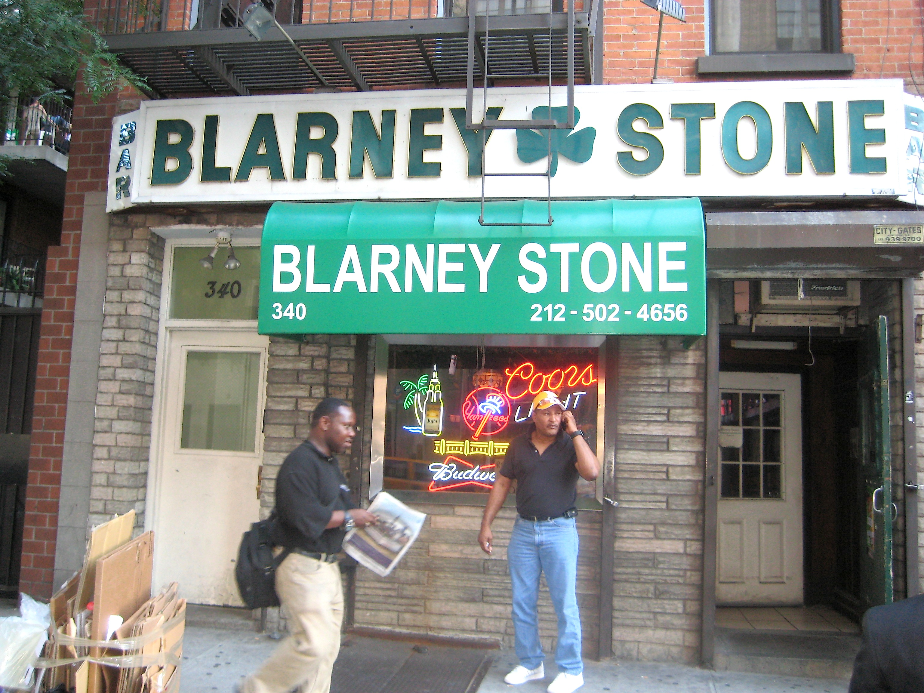 How New York S Blarney Stones Got Their Start Ephemeral