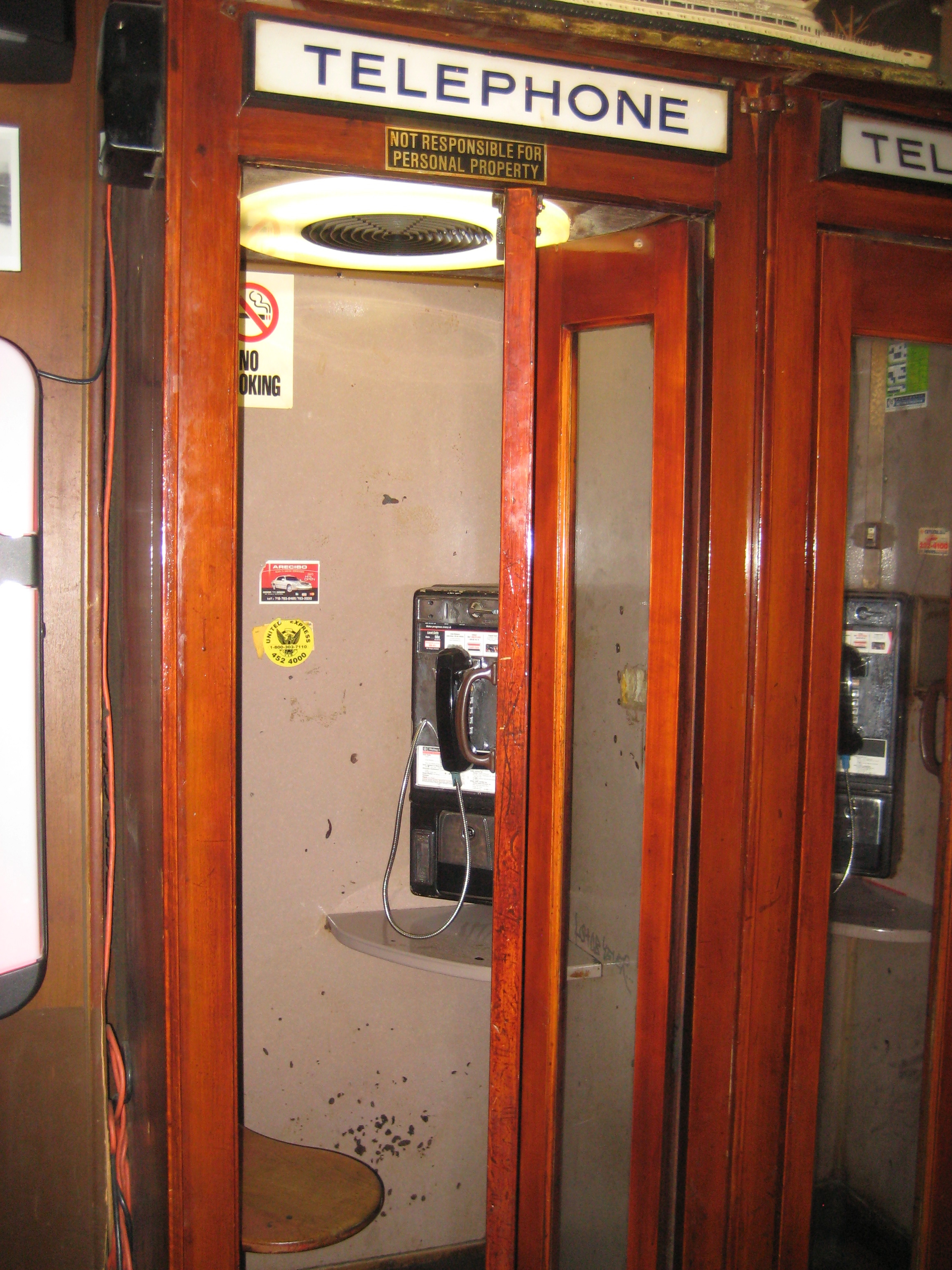 Wooden Phone Booths Ephemeral New York