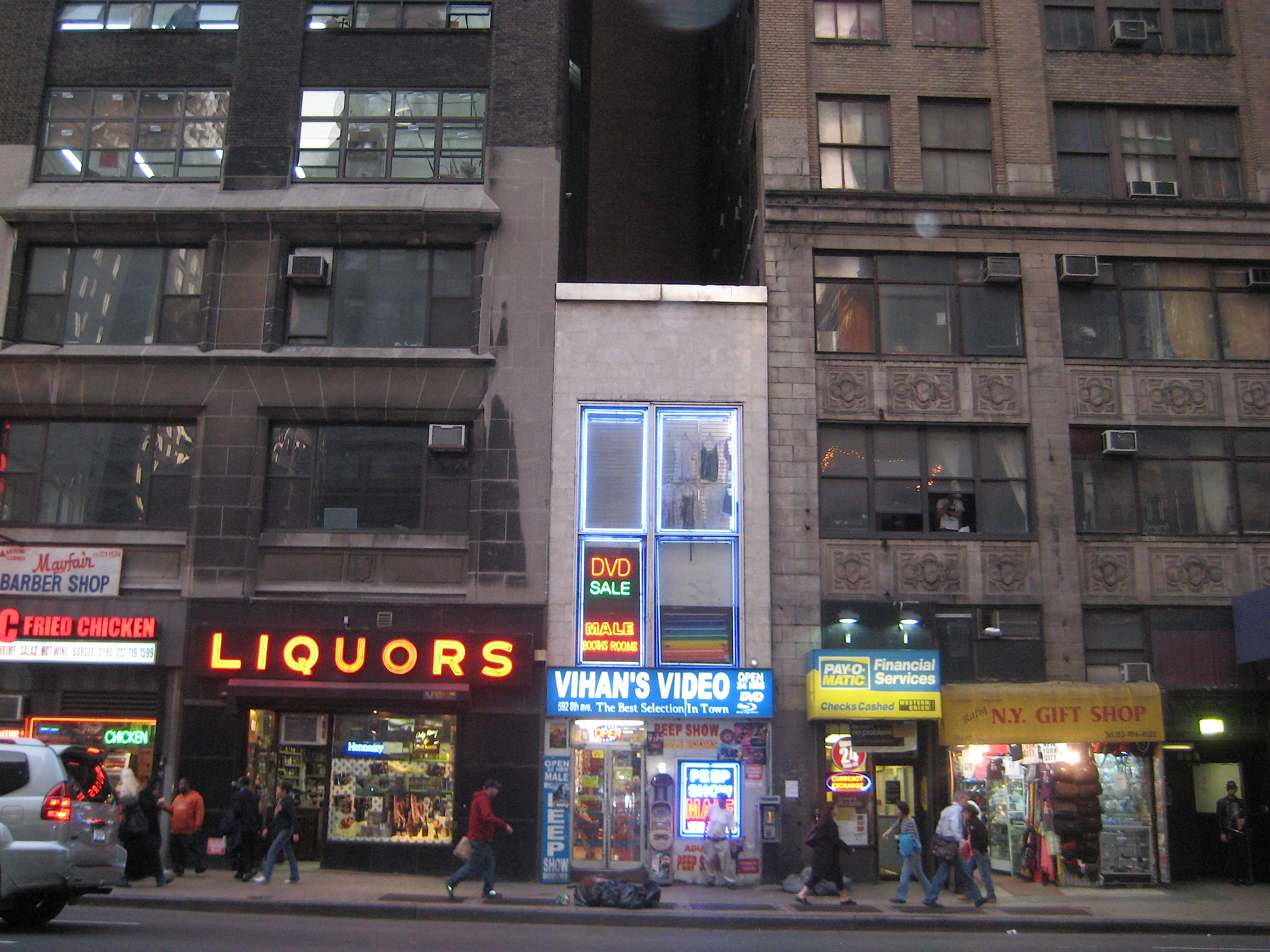 Sixth street avenue porno